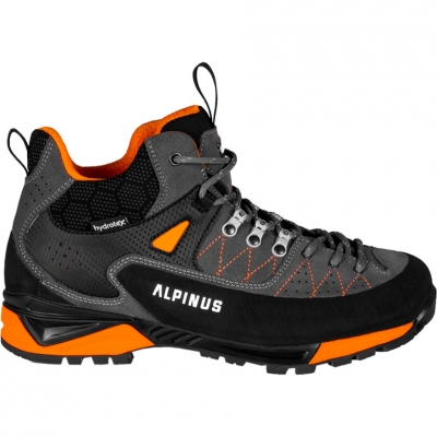 Pantofi sport Trekking Alpinus The Ridge Mid Pro anthracite-orange GR43288