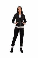 Trening femei j5 fashion zip up ts2437 negru