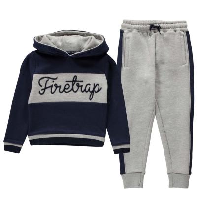 Firetrap 2 Piece Jog Set de baieti Bebe