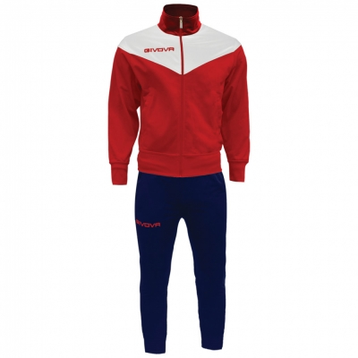 Trening sport TUTA VENEZIA Givova rosu albastru