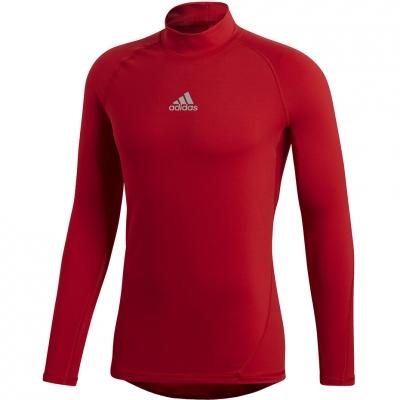 Tricouri Tricouri Adidas ASK SPR Longsleeve climawarm red DP5537