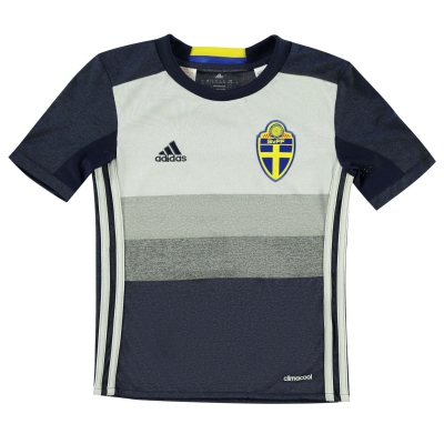 adidas Euro 2016 Sweden Away Jersey de baieti Junior