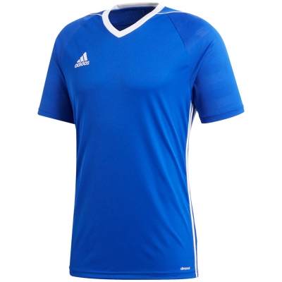 Tricouri adidas TIRO17 JSY JR blue BK5439 adidas teamwear