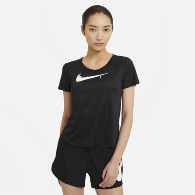 Nike Swoosh Run Short-Sleeve Running Top pentru femei