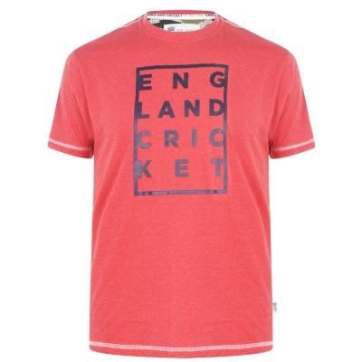 Tricouri England Cricket Cricket Box Graphic Replica pentru Barbati