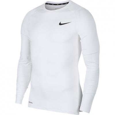 Tricouri Nike NP Top LS Tight white BV5588 100