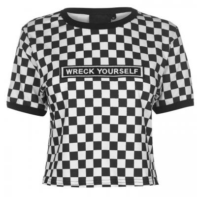 Tricouri Cosmic Cropped pentru Femei
