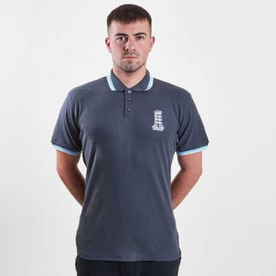 Tricouri Polo England Cricket Cricket Pique