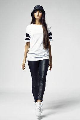 Tricouri Stripe Mesh pentru Femei Urban Classics