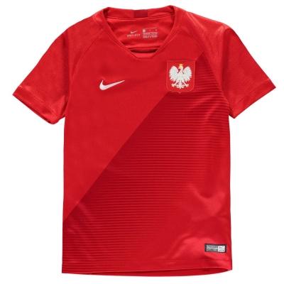 Tricou Deplasare Nike Poland 2018 Junior