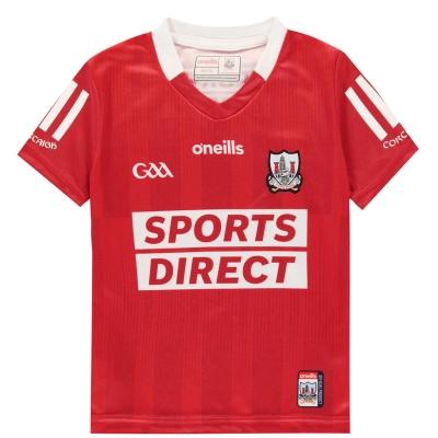 ONeills Cork Home Jersey (2 stripe option) Junior