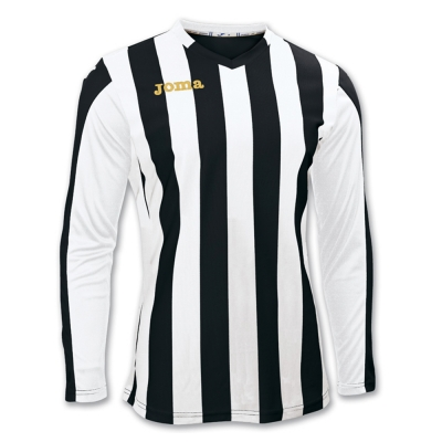 Tricouri Copa Black-white L/s Joma