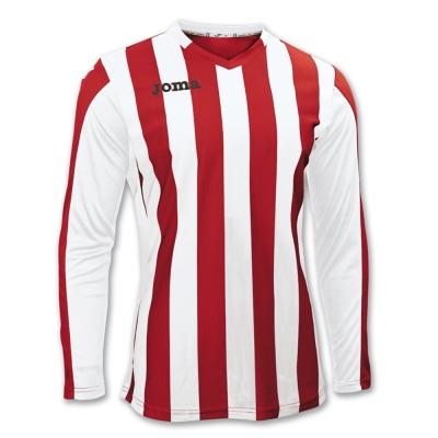 Tricouri Copa Red-white L/s Joma