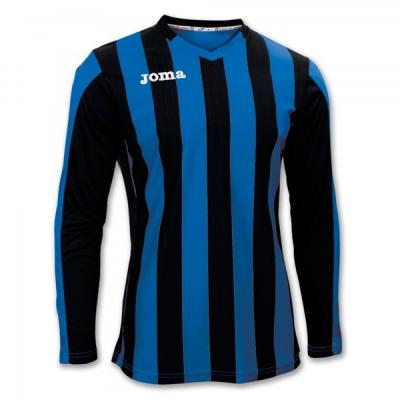 Tricouri Copa Royal-black L/s Joma