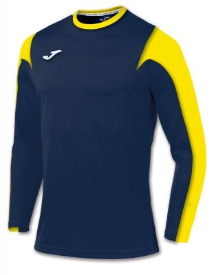Tricouri Estadio Navy-yellow L/s Joma