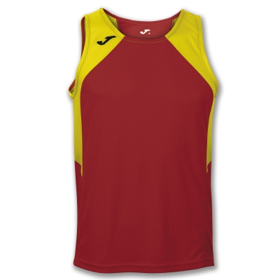 Tricouri Record Red-yellow Sleeveless Joma