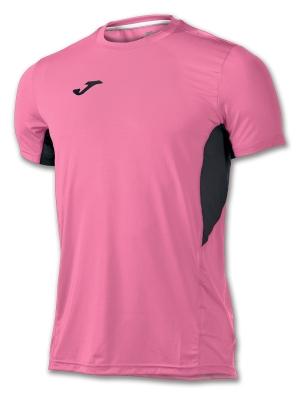 Tricouri Record Ii Pink Fluor-black S/s Joma