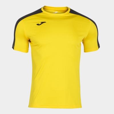Tricouri Academy Yellow-black S/s Joma