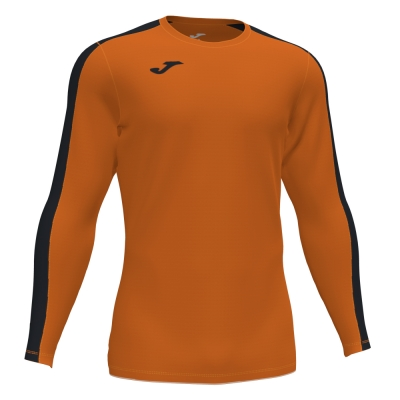 Tricouri Academy Orange-black L/s Joma