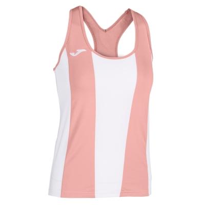 Tricouri Aurora White-pink Sleeveless pentru Femei Joma