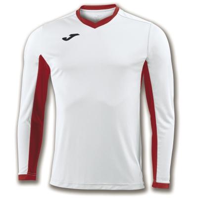 Tricouri Champion Iv White-red L/s Joma