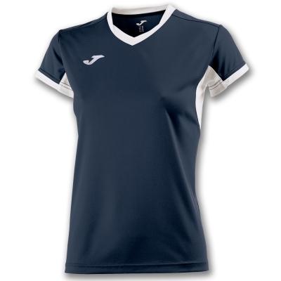 Tricouri Champion Iv Navy-white S/s pentru Femei Joma