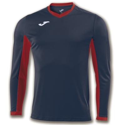 Tricouri Champion Iv Navy-red L/s Joma