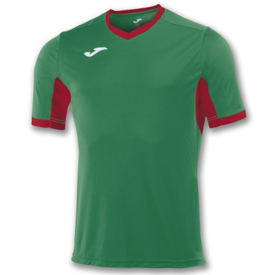 Tricouri Champion Iv Green-red S/s Joma