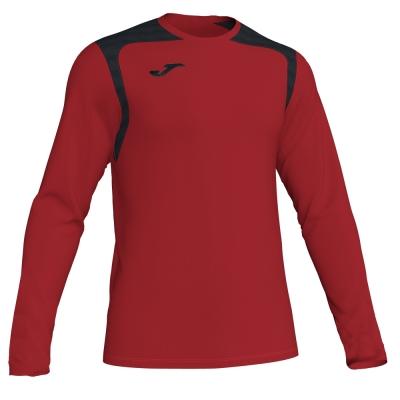 Tricouri Champion V Red-black L/s Joma
