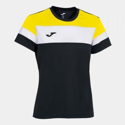 Tricouri Crew Iv Black-yellow S/s Joma