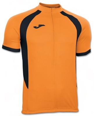Tricouri Duathlon Orange-black S/s Joma