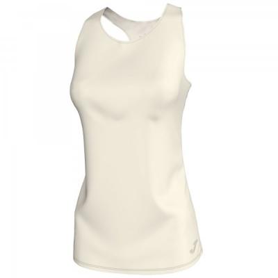 Tricouri Electra Off-white Sleeveless pentru Femei Joma