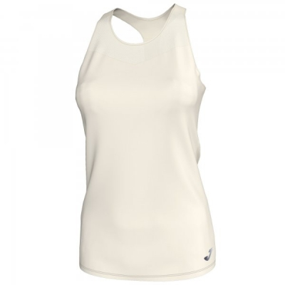 Tricouri Electra Off-white Mesh Sleeveless pentru Femei Joma
