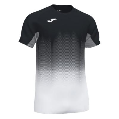 Tricouri Elite Vii Black-white-gray S/s Joma