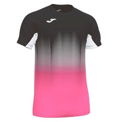 Tricouri Elite Vii Black-fluor Pink-white S/s Joma