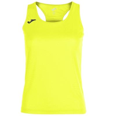 Tricouri Race Yellow-fluor Sleeveless pentru Femei Joma