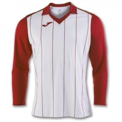 Tricouri Grada White-red L/s Joma