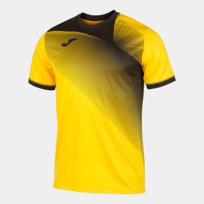 Tricouri Hispa Ii Yellow-black S/s Joma