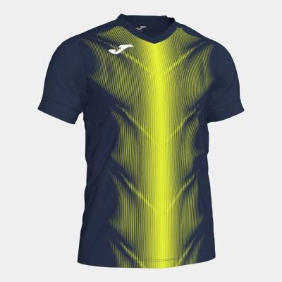 Tricouri Olimpia Dark Navy-fluor Yellow S/s Joma