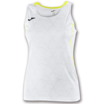 Tricouri Record Ii Sleeveless White pentru Femei Joma