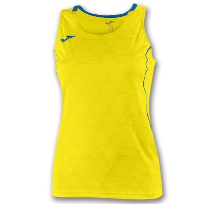 Tricouri Record Ii Sleeveless Yellow pentru Femei Joma