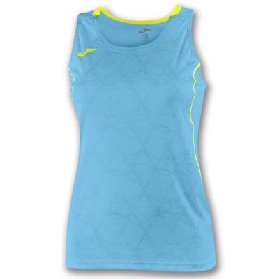 Tricouri Record Ii Sleeveless Turquoise Fluor pentru Femei Joma