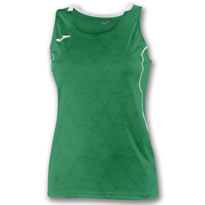 Tricouri Record Ii Sleeveless Green pentru Femei Joma