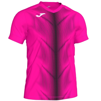 Tricouri Olimpia Fluor Pink-black S/s Joma