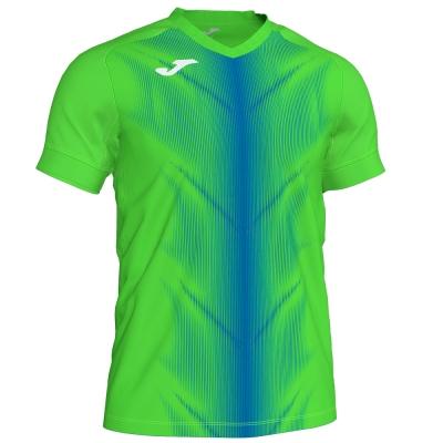Tricouri Olimpia Fluor Green-royal S/s Joma