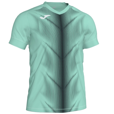 Tricouri Olimpia Green-black S/s Joma