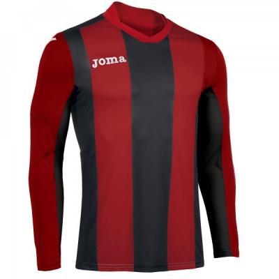 Tricouri Pisa V Red-black L/s Joma