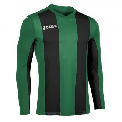 Tricouri Pisa V Green-black L/s Joma