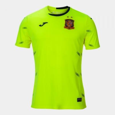 Tricouri Portar Spanish Futsal Yellow S/s Joma