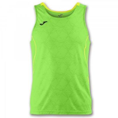 Tricouri Record Ii Green Fluor-yellow Sleeveless Joma